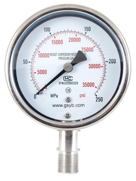 液压油表产品的相关说明